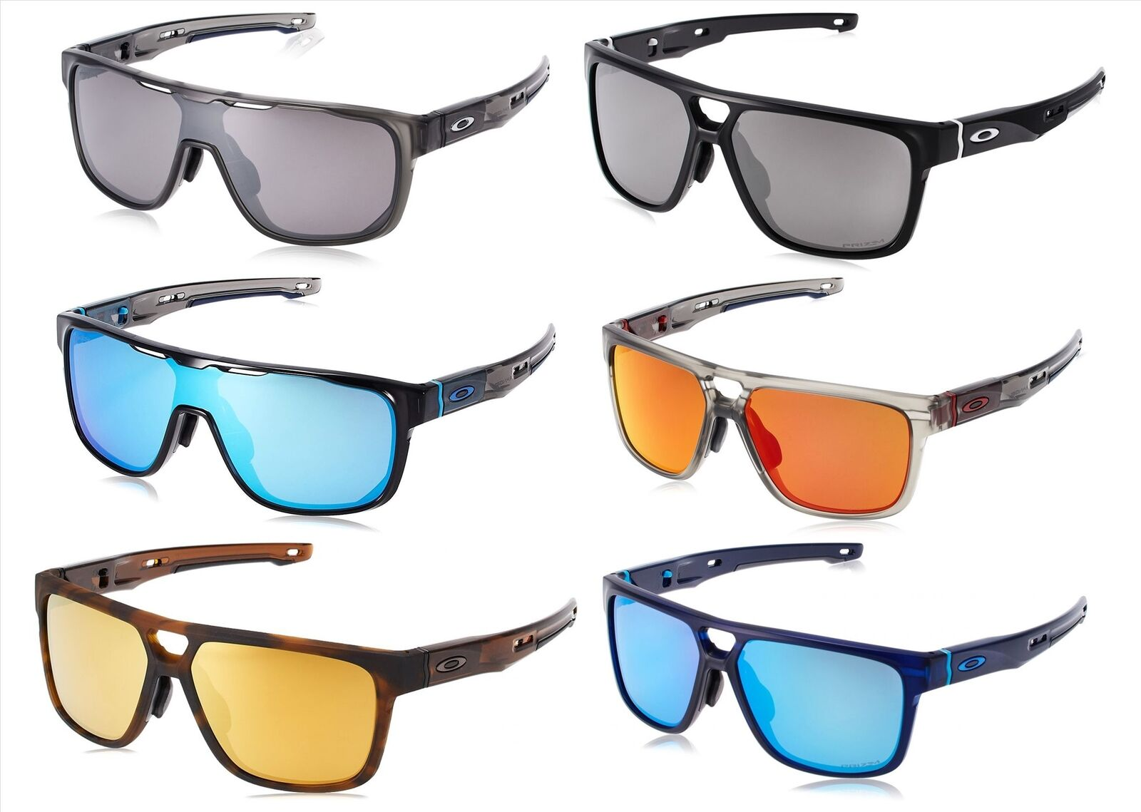 Oakley Crossrange Shield Patch (Asian Fit) Sunglasses - Choice of Color 78fe1d7560