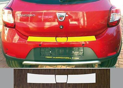 Lackschutzfolie Ladekantenschutz transparent Dacia Sandero Stepway, 2012 - 2017