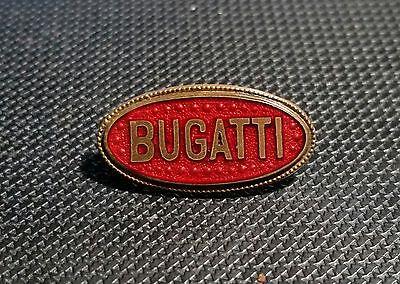 Bugatti Brosche emailliert 22x12mm 20er Jahre alt+original