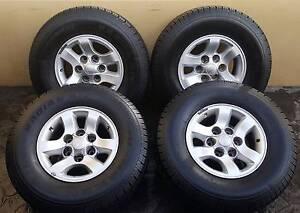 "31"" Nexen All Terrain Tyres and Genuine Sr5 Alloys = Near New = Fremantle Fremantle Area Preview"