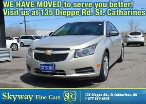 2012 Chevrolet Cruze LS  LOCAL TRADE | LOW MILEAGE | WELL SERVIC