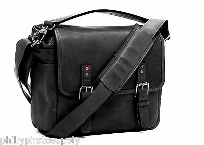 The All New ONA Black Berlin II Leather Camera / Messenger Bag