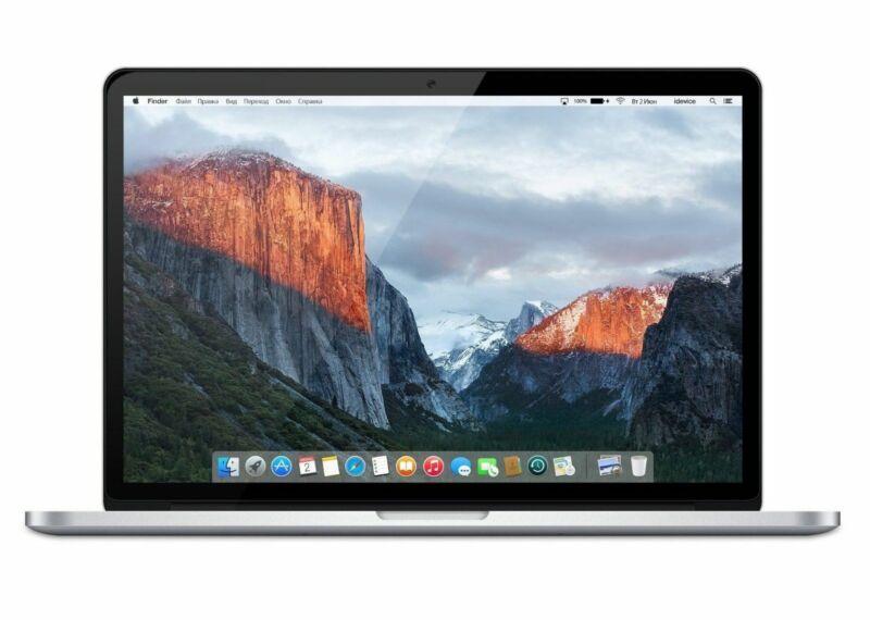 Apple MacBook Pro Retina Core i7 2.2GHz 16GB RAM 256GB SSD 15 MJLQ2LL/A