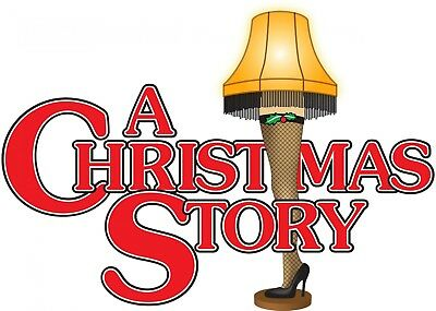 A Christmas Story Iron On Transfer For T-Shirt & Other Light Color Fabrics (Christmas Iron On Transfers For T Shirts)