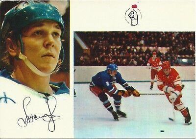 Alexander MALTSEV Soviet Union Star Ice Hockey Russian 1973 Hockey CARD segunda mano  Embacar hacia Argentina