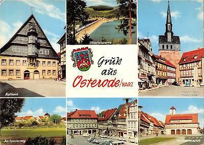 GG11472 Gruess aus Osterode Harz Rathaus, Marktplatz Kornmarkt Am Spazierweg - Gg Korn