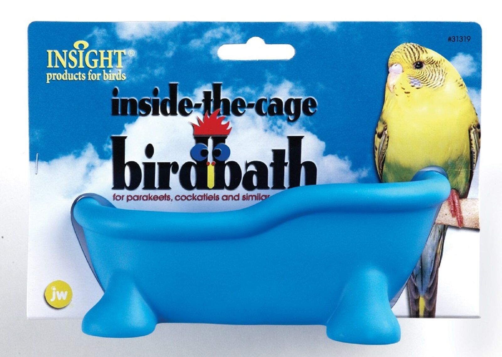 Insight Inside-the-cage Birdbath