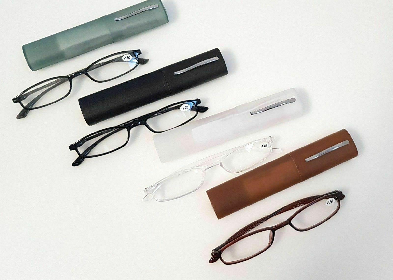 Lesebrillen mit harte Etui Lesebrille Brillen Lesehilfe 1 - 3,5