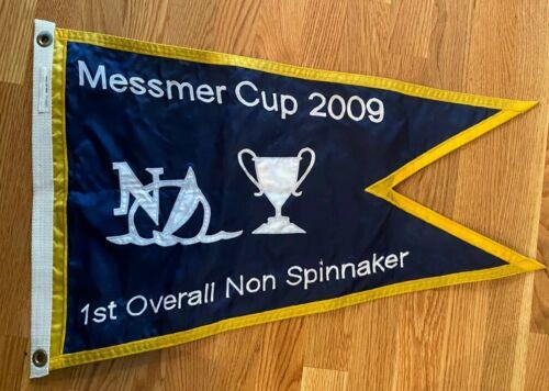 Naples Sailing Yacht Club MESSMER CUP 1ST Non Spinnaker 2009 burgee pennant