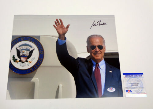 Joe Biden Vice President Signed Autograph 11x14 Photo PSA/DNA COA B