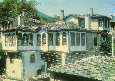 Alte Postkarte - Smoljan - Das Haus Miliontscheschitev