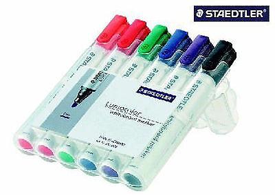 Board-Marker Lumocolor® 351 whiteboard marker, STAEDTLER Box mit 6 Farben