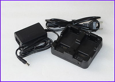 New Nivo 2m2c Dual Charger Nivo Charger For Trimble Nikon Mc Total Station