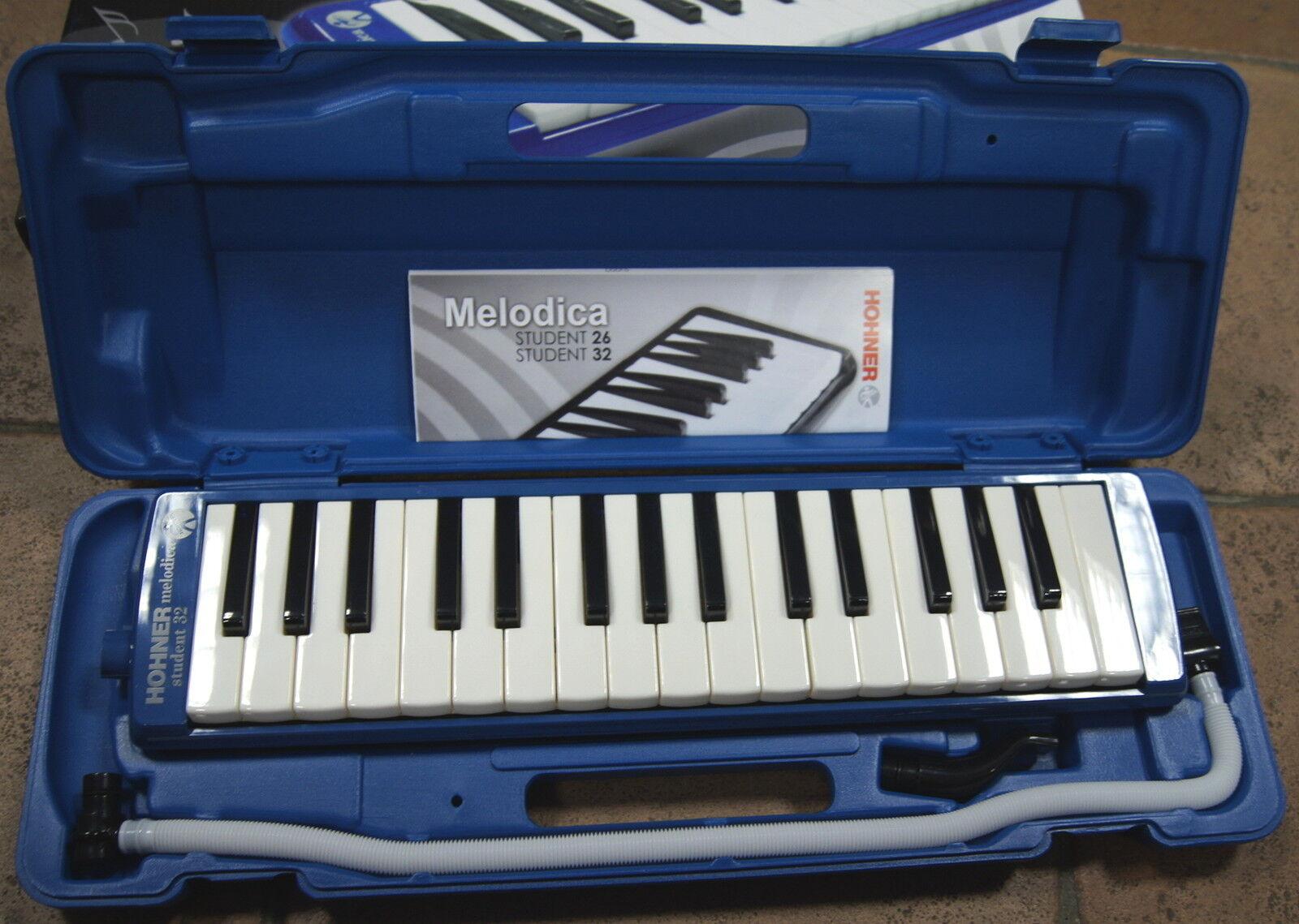 Melodica HOHNER Studente 32 a tasti pianoforte, 32 Note. Strumento in un caso