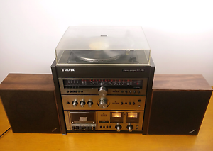 VINTAGE COMPACT SILVER STEREO SYSTEM 201 HIFI MODEL SS201 4 IN 1 Alexandria Inner Sydney Preview