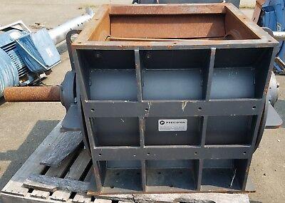 Rotary Airlock Chip Feeder 25x30 Matl Steel Precision Machine Manufacturing