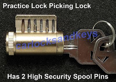 NEW Kwikset Cutaway Practice Lock Picking Lock, Locksmith Training Tool