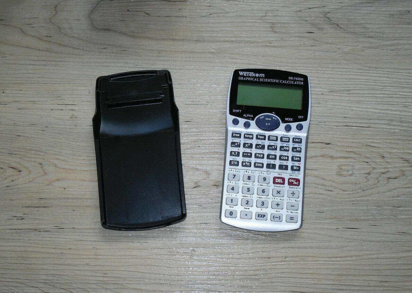 Wetekom DS-742 DQ Graphical Scientific Calculator Grafischer Taschenrechner