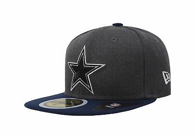 New Era 59Fifty Hat NFL Dallas Cowboys Kid Youth Boys Girls Gray Blue Shader Cap