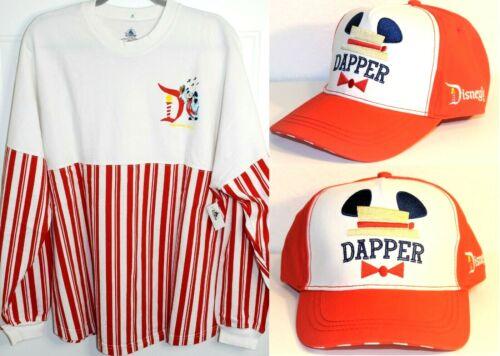 Disney Dapper Dans XL Spirit Jersey Disneyland Main St USA  AND Dapper Dans Cap
