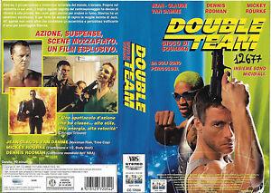 DOUBLE-TEAM-1997-vhs-ex-noleggio