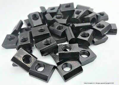516-18 Slide In T-nut 50pcs Aluminum T-slot Free Sh Compare To 8020