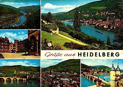 Grüße aus Heidelberg , Ansichtskarte, gelaufen