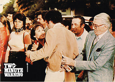 "Two Minute Warning 1976 8.5x11.5"" international lobby card"