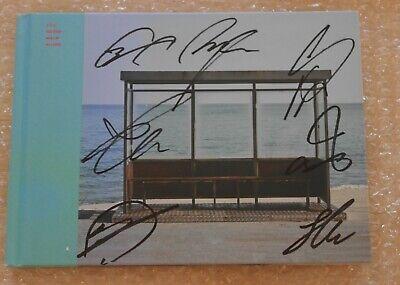BTS Autographed Signed YOU NEVER WALK ALONE Spring Day Left ver. Album PROMO CD