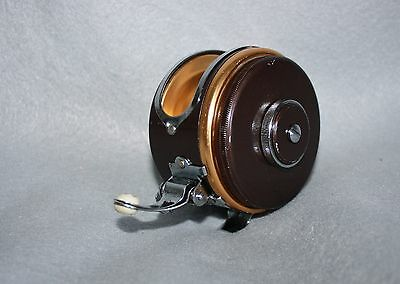 Vintage Unbranded Oren-O-Matic Style Fly Reel  Made in Japan