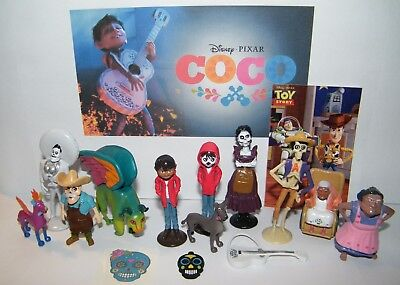 Disney Coco Movie Party Favors Set of 15 with Figures, Charm, Tattoo and Spirits](Movie Party)