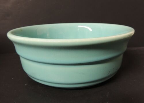 Franciscan Ware Turquoise Bowl Glossy 1940-47