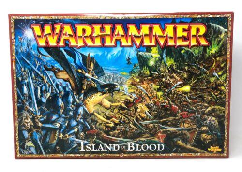 Games Workshop Warhammer Fantasy Island of Blood Starter Set Skaven vs Elves OOP