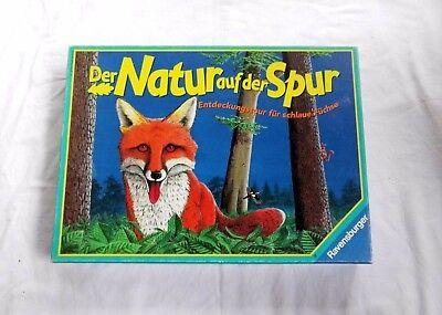 Der Natur auf der Spur - Altes Ravensburger Brettspiel (1997) ab 8 Jahre