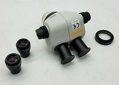 Scienscope Elz-bd-b2 Elz Stereo Zoom Binocular Microscope Body W2wf 10x20
