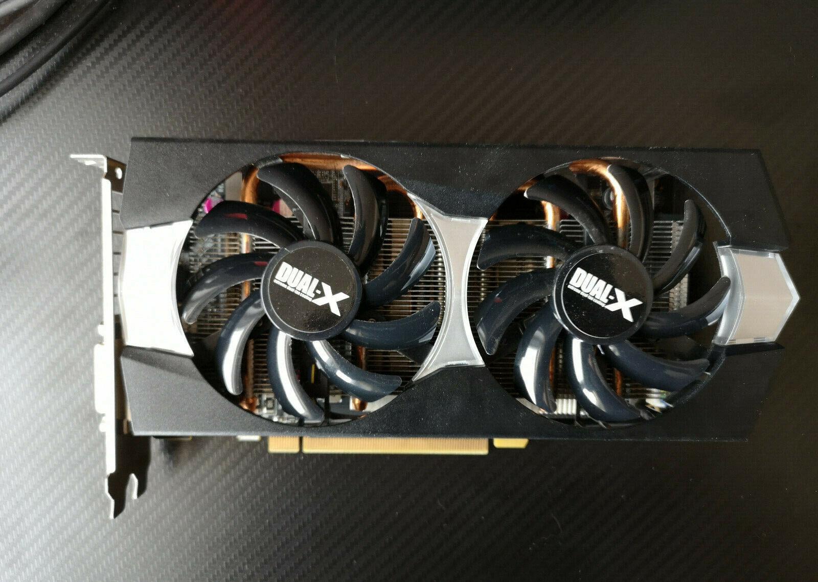 AMD Radeon R9 270X - Sapphire 270X 11217-01-20G Dual-X Radeon R9 ATI Grafikkarte