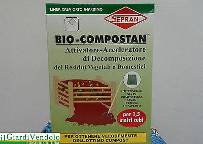 BIO-COMPOSTAN BIOLOGICO PER COMPOST: attivatore-acceleratore di decomposizione