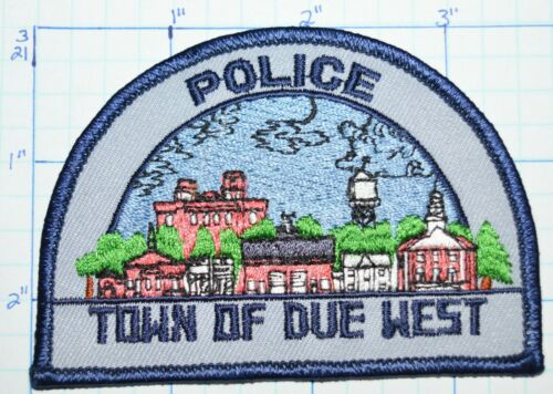 SOUTH CAROLINA, TOWN OF DUE WEST POLICE DEPT PATCH