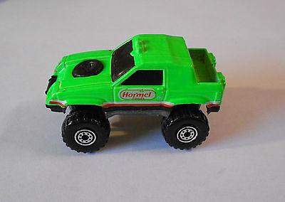Hot Wheels  Mattel 1984 Flourescent Green Baja Hormel Foods Die Cast