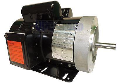 3 Hp Electric Motor 3450 3600 Rpm 1ph 56c Frame Tefc 230 Volt General Purpose