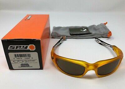 New in box Spy HS Scoop Sunglasses Gold / Yellow Bronze Lens