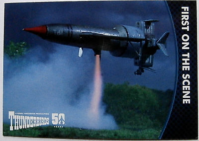 THUNDERBIRDS 50 YEARS - Card #6 - Gerry Anderson - Unstoppable Cards Ltd 2015