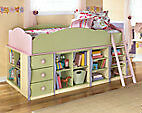 Ashley Furniture Loft Bed and desk
