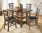EH Ashley Pinderton Dinette w/ 4 chairs
