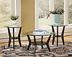Ashley meubles set of three Fantell decor style tables Longueuil / South Shore Greater Montréal Preview