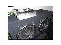 Subwoofer/amplifier/stereo..BARGAIN..!!