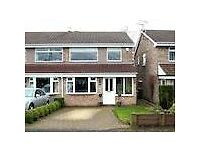 House share - 2 rooms in Altrincham ,Cheshire for short term rent on weekly basis.