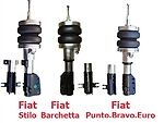Fbx-f-fia-14 2001-2006 Fiat Stilo Front Air Suspension Ride Kit