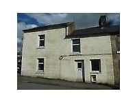 'OFFERS INVITED' FOR THIS 3 BED END TERRACED ONGOING PROPERTY RENOVATION IN SANQUHAR, DUMFRIESSHIRE
