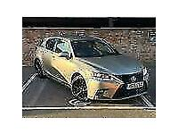 2019 Lexus CT 200h 1.8 Sport Pack HATCHBACK Petrol/Electric Hybrid Manual